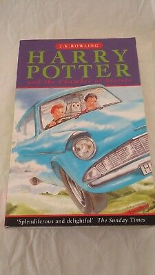 Harry Potter and the Chamber of Secrets by J. K. Rowling (1998, Paperback)