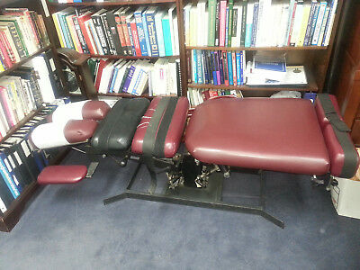 Eurotech chiropractic flexion/distraction table