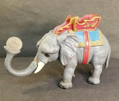 Cast Iron Indian ELEPHANT Bank Howdah Saddle Seat 8""