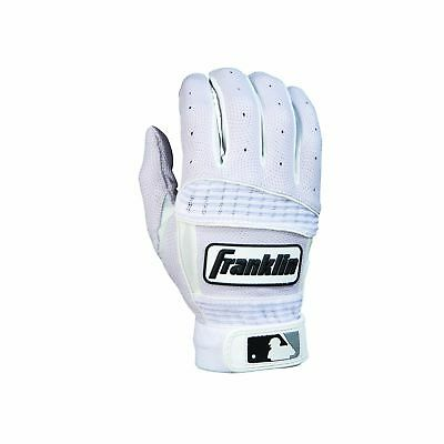 Franklin Sports Neo Classic Series Batting Gloves Pearl/White Large