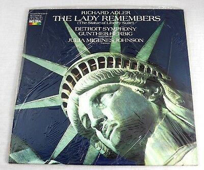 Richard Adler 1986 The Lady Remembers The Statue Of Liberty Suite Vinyl LP New