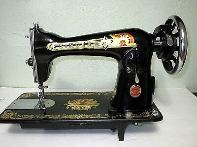Beautiful Singer Sphinx Sewing Machine Reproduction Excellent !!!!