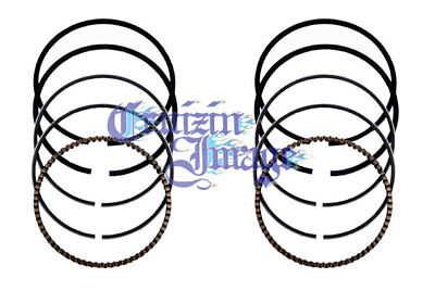80-88 Suzuki Gs450 Standard Piston Rings Set 2 Rings Include 11-Gs450Pr