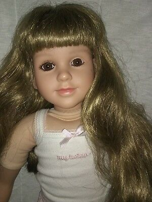 "My Twinn Doll 1996 23"" dirty blond hair brown eyes 23"""
