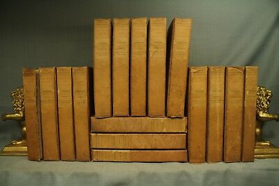 Lives of the Queens of England antique old books decorators shelf book lot 16 vo