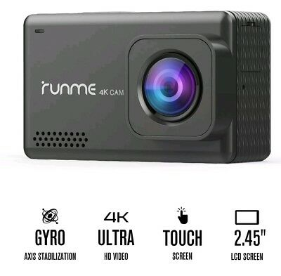 "Runme R3 2.45"" Touchscreen 4K 25FPS HD 1080P Wi-Fi  Action Camera, Sony 16MP"