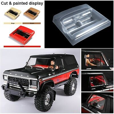 DIY Simulation Interior Car Body Shell Cover For 1/10 Traxxas TRX4 Ford Bronco