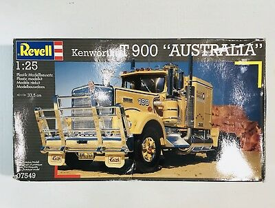 REVELL 1:25 SCALE Kenworth T900 Australia Semi Truck Model Kit