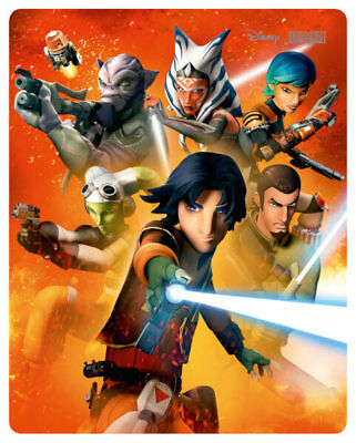 Star Wars Rebels Complete Season Two 2 Blu-Ray Steelbook New Region Free.