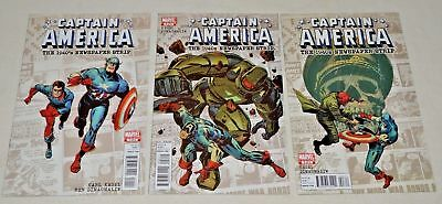 CAPTAIN AMERICA 1940'S Newspaper Strip #1-3 Complete Marvel Limited Series NM+