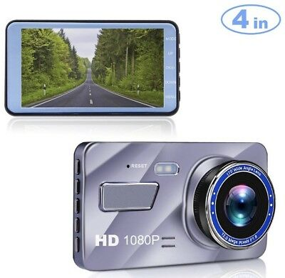 """Blusmart Dash Cam, 4"""" LCD FHD 1080P 170 Degree Wide Angle Dash Camera for Cars,"""