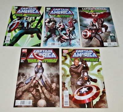 CAPTAIN AMERICA HAIL HYDRA #1-5 Marvel Limited Series Complete Set 2011 VF/NM