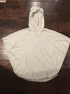 Ivivva Knit Hooded Poncho SIZE 14