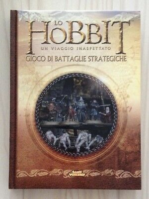 GW The Hobbit Strategy Battle Game hardback rulebook ITALIANO Lord of the Rings