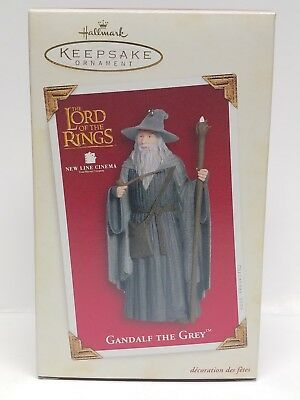 Hallmark Keepsake Lord Of The Rings Gandalf The Grey Ornament 2005