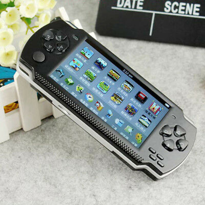 "X6 8G 32 Bit 4.3"" PSP Portable Handheld Game Console Player 10000 Games mp4 +Cam"