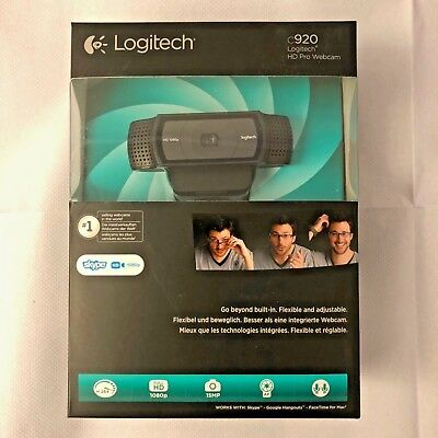 Logitech C920 HD Pro Webcam - Full HD 1080p NEW Free P&P