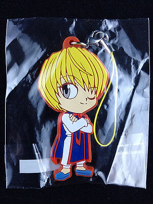 Hunter X Rubber Strap Key Chain Official UTE Kurapika Kurta New
