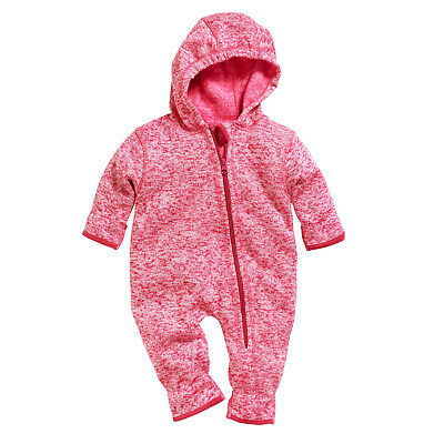 Playshoes Strick fleece Overall 421010 multicolor pink Gr. 62 - 86 Fleeceoverall