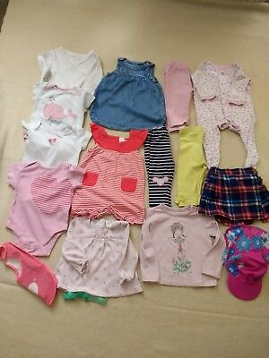 Huge Baby Girl Clothes Bundle 6-9 Months. Next M&S Miniclub Baby.Great Condition