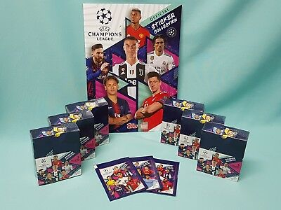Topps Champions League Sticker 2018/2019 Album Tüten Display aussuchen 18/19