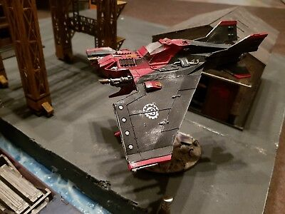 Forgeworld Mechanicum Imperial Navy Lightning Strike Fighter pro painted