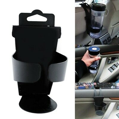 Black Universal Vehicle Truck Door Mount Drink Bottle Cup Holder Stand led GP3