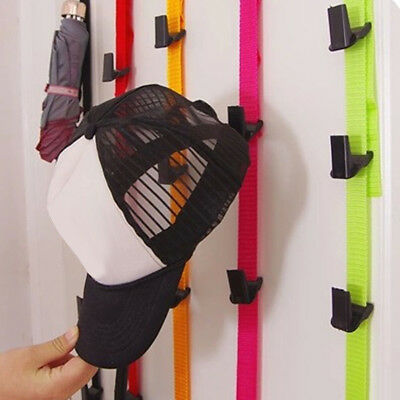 AU_ Adjustable Home Door Closet Hat Bag Storage Holder Racks Organizer Hanger Ho