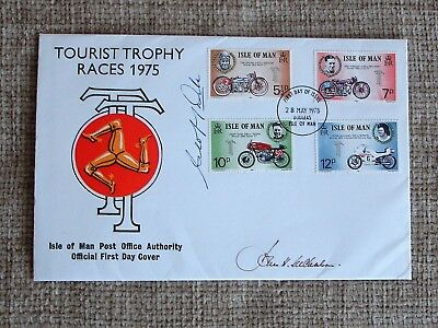 Geoff Duke TT Signed FDC, Been Stored In Drawer.