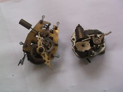Mechanism And Music Box From An Old Cuckoo Clock   Working Order Ref V19