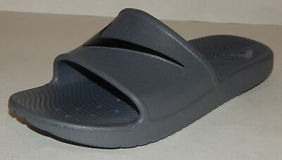 bbfd43c37d0a Nike Men s Kawa Shower Slides   Sandal Shoe NEW Dark Grey   Black Size 12