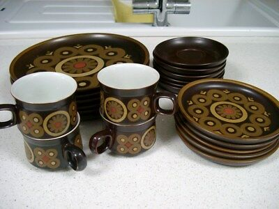 Vintage Denby Arabesque Tableware items in very good condition