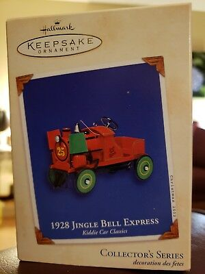 HALLMARK Keepsake Ornament 2002 1928 Jingle Bell Express Series #9