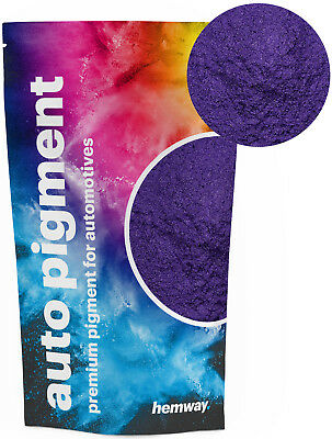 Hemway Automotive Powder Pigment Metallic Purple Violet Pearl Auto Paint 50g