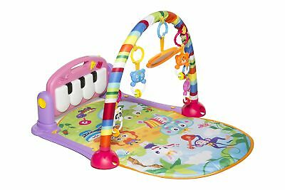 MooToys Kick and Play Newborn Toy with Piano for Baby 1 - 36 Month, Lay and P...