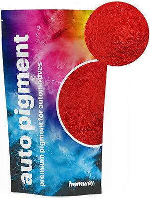 Hemway Automotive Powder Pigment Metallic Postbox Red Pearl Auto Paint 100g