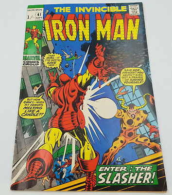 Iron Man #41 Bronze Age Marvel Comics Gerry Conway VF-