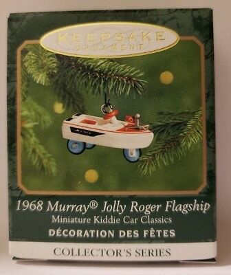 "Hallmark ""1968 Murray Jolly Roger Flagship"" Miniature Ornament 2000 #6 in Series"