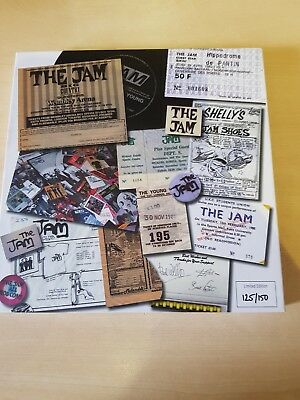 The Jam thick as thieves , personal situations , rare box set , signed !!!!!!
