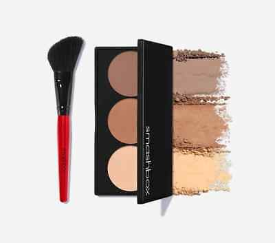 SMASHBOX Step by Step Contour Kit, brush included BNIB RRP$51 AUTHENTIC