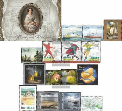 Finland - Aland 337-352 (complete issue) Volume 2011 completeett unmounted mint
