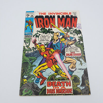Iron Man #26 Silver Age Marvel Comics 1st Appearance of Val-Larr F/VF