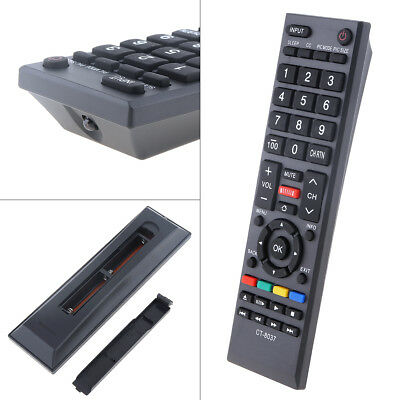 CT-8037 Universal Replacement TV Remote Control for Toshiba Smart 3D LED LCD TV