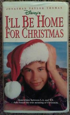 ill be home for christmas disney movie vhs clamshell jonathan taylor thomas - I Ll Be Home For Christmas Film