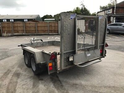 Used Ifor Williams GH1054BT-Twin Axle- 3,500kg plant trailer - INC. VAT