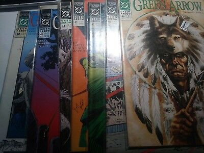 Green Arrow 7 Comic Book Lot