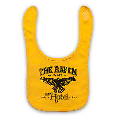 Altered Carbon Unofficial The Raven Hotel Sci Fi Tv Baby Bib Cute Baby Gift