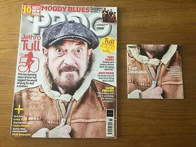 PROG Magazine, March 2018, Issue 85, Jethro Tull at 50, FREE POSTAGE