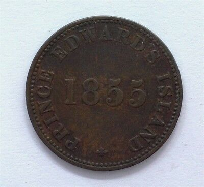 Prince Edward Island 1855 Sef Government And Free Trade Token  Very Fine