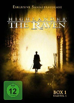 Highlander - The Raven - Box 1 / Staffel 1 [3 DVDs] NEU/OVP